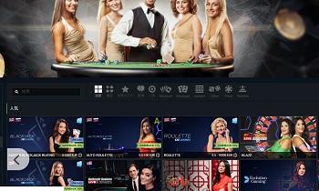 ライブカジノを登録なしで体験が出来るオンラインカジノ